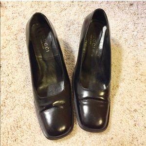 Gucci Black Calf Shoes 👠